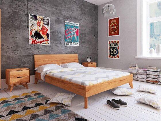 Łóżko drewniane – z pojemnikiem czy bez? Jakie wybrać? 5