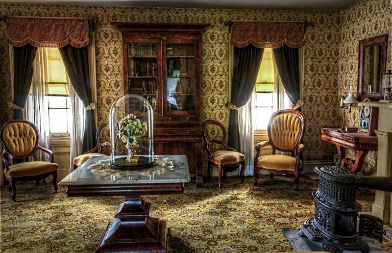 Vintage w domowych wnętrzach 1