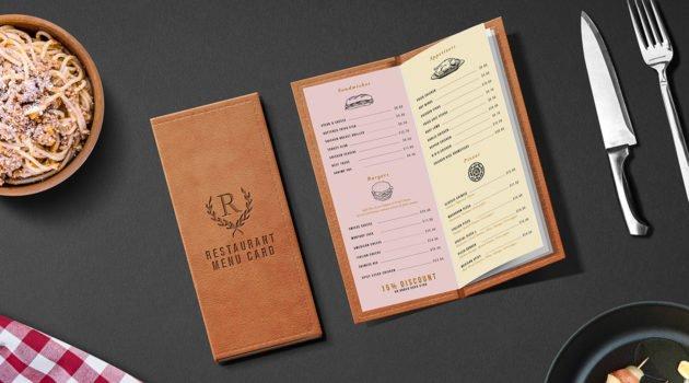 O czym pamiętać podczas produkcji kart menu?