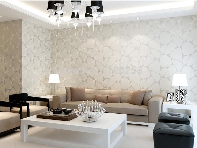 aranżacja salonu z tapetą