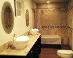 Decoupage dla nowoczesnej łazienki – malowanie