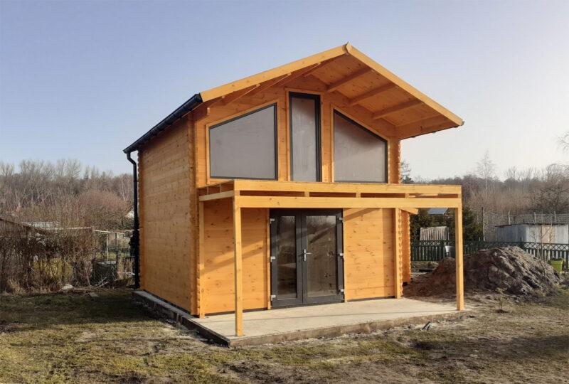 Domy z drewna - letniskowe czy całoroczne? 1
