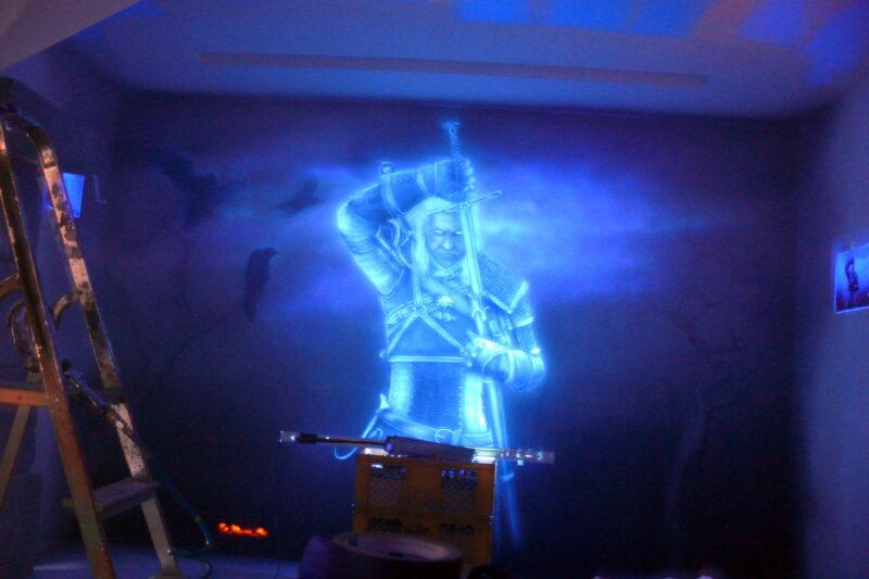 farba fluorescencyjna do ścian