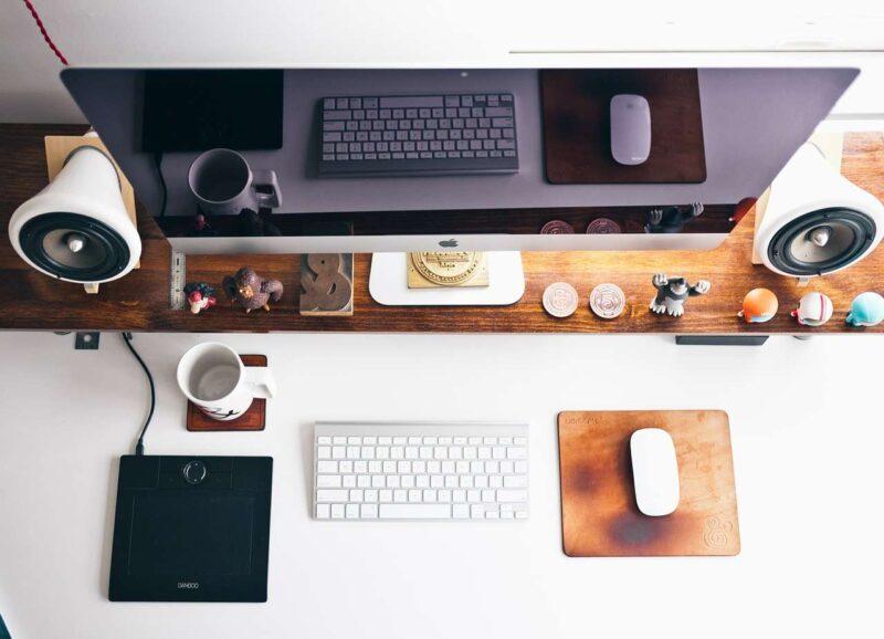 Biuro w salonie – twój własny kącik pracy 1