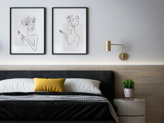 Tapety na ścianę do sypialni - jak wybrać? 4