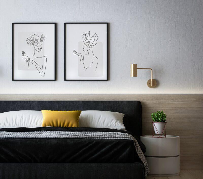 Tapety na ścianę do sypialni - jak wybrać? 1