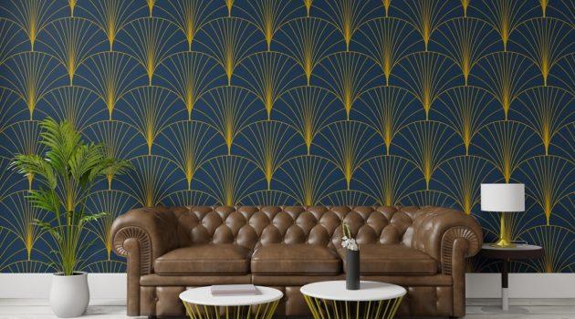 Tkanina dekoracyjna Art Deco – sposób na elegancką aranżację salonu