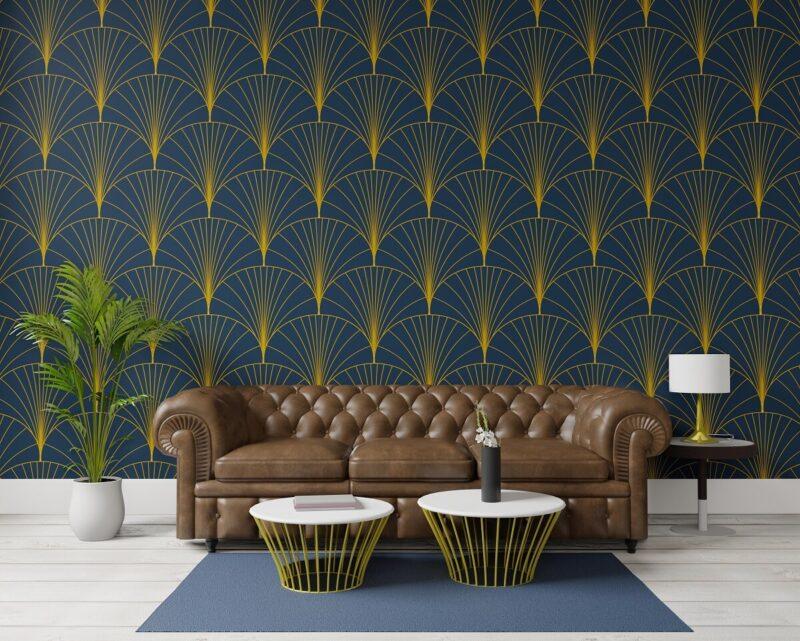 Tkanina dekoracyjna Art Deco - sposób na elegancką aranżację salonu 1