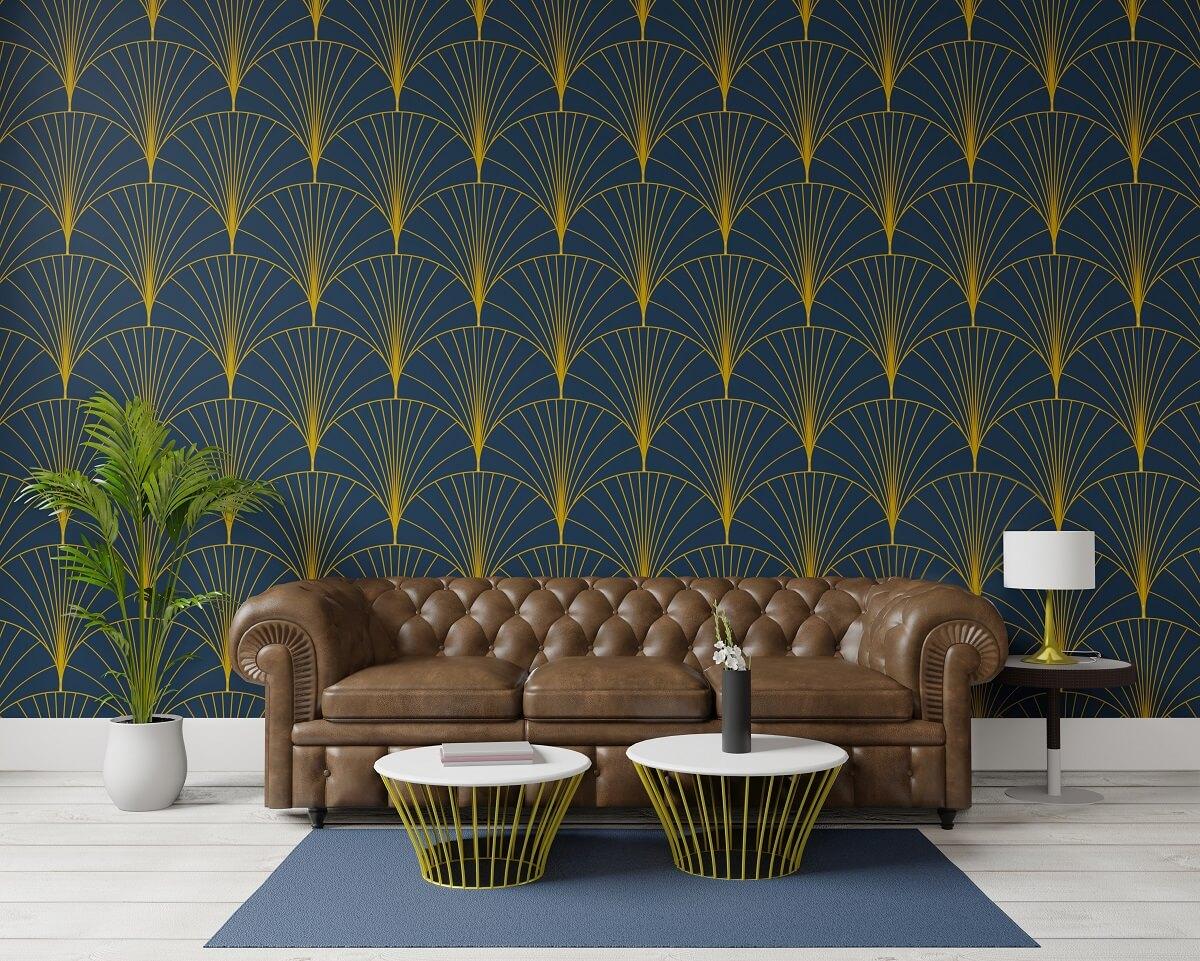 Tkanina dekoracyjna Art Deco - sposób na elegancką aranżację salonu 2
