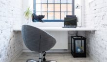 Aranżacja domowego biura w mieszkaniu