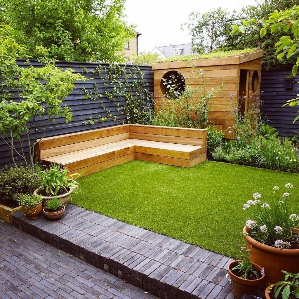 niewielki ogródek