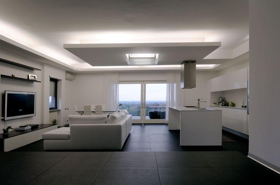 nowoczesna lampa sufitowa