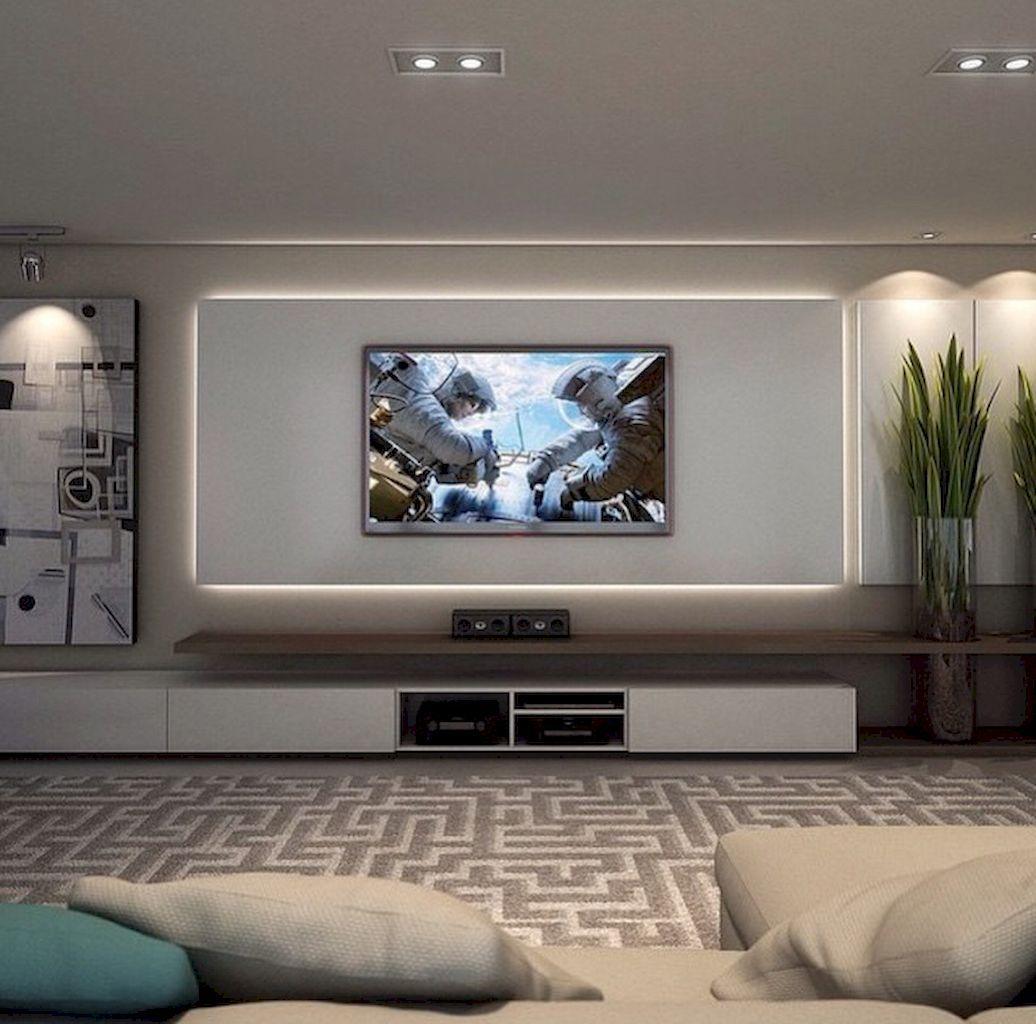 nowoczesna ściana tv