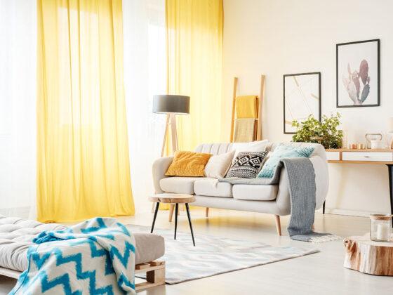 Jak wybrać zasłony do nowoczesnego mieszkania? 4