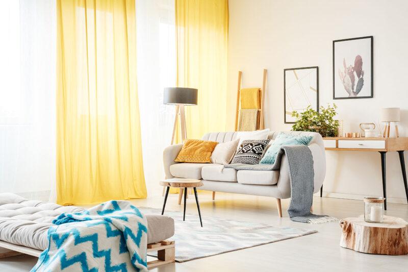 Jak wybrać zasłony do nowoczesnego mieszkania? 1