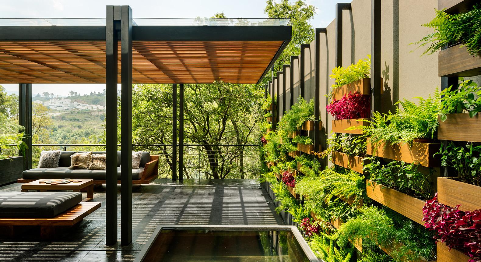 Ogród wertykalny w dżungli miejskiej 5