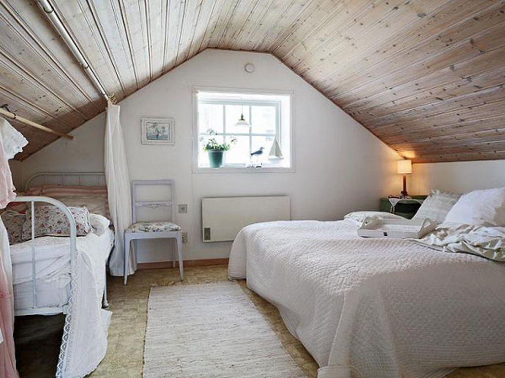 sypialnia w domku górskim