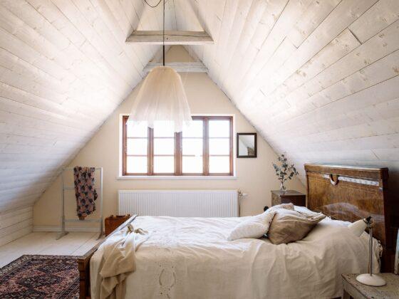 sypialnia ze skosem