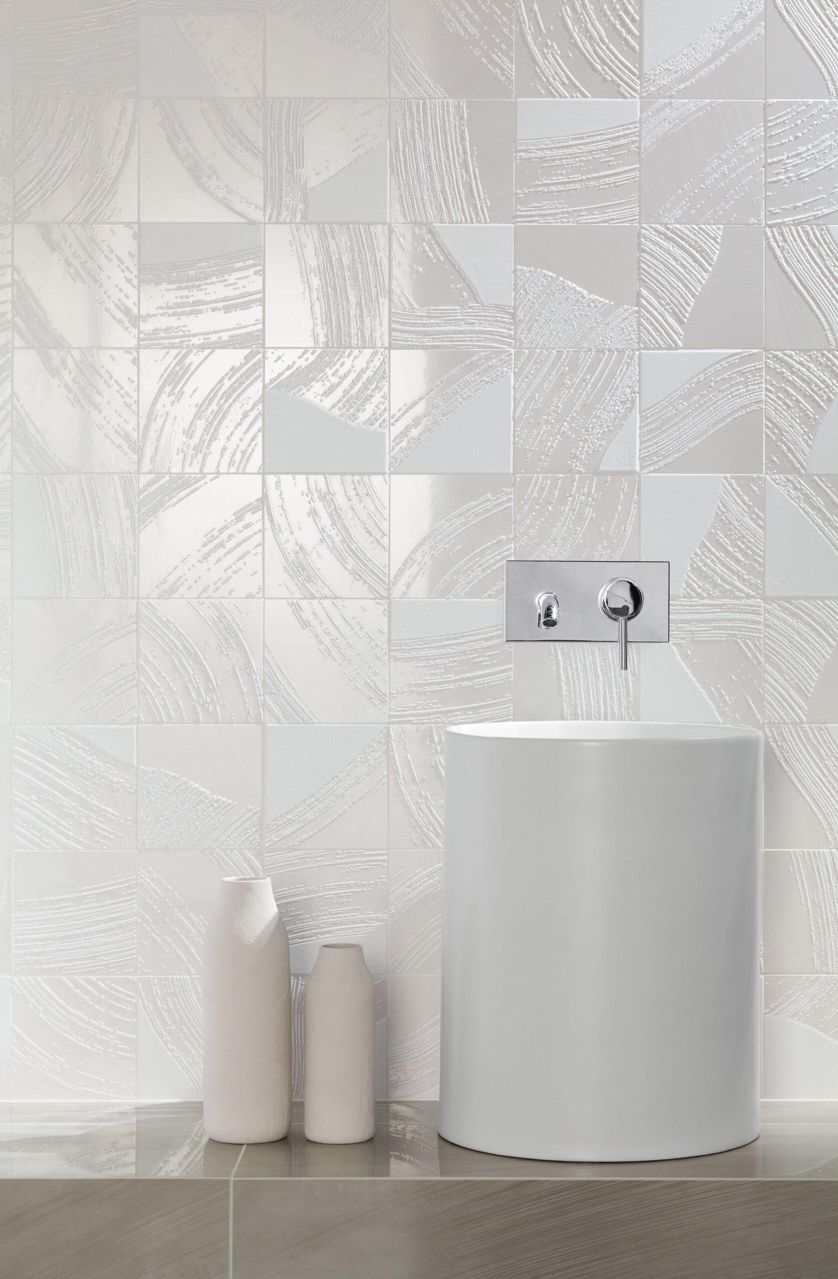 Jasne łazienki - inspiracje
