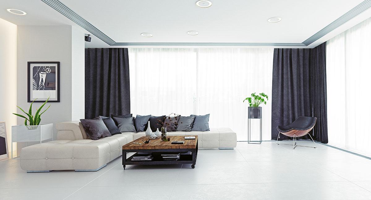 Jak wybrać zasłony do nowoczesnego mieszkania? 2